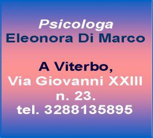 Psicologa Eleonora Di Marco