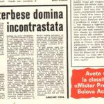 """""""I MITICI DEL '70"""". QUELL'AVVENTURA CHE COMINCIO' CON LA TRASFERTA DI FORMIA …"""